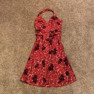 Ann Taylor Dresses - Ann Taylor patterned halter dress